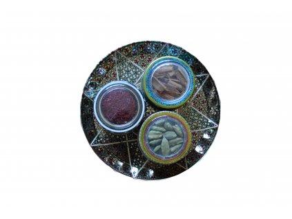Orientálny tanier - šafran, škorica, kardamom