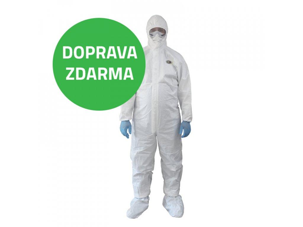 ochranny oblek doprava