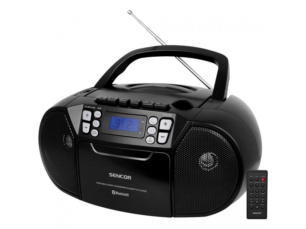 SPT 3907 B RADIO S CD USB BT KAZE SENCOR
