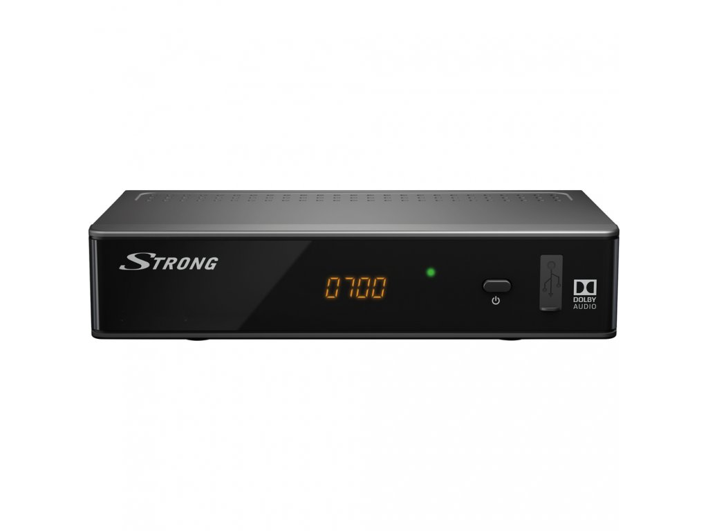 SRT 8541 HD DVB T2 HEVC PŘIJÍMAČ STRONG