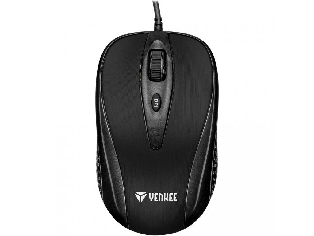 YMS 1025BK Myš USB Quito černá YENKEE