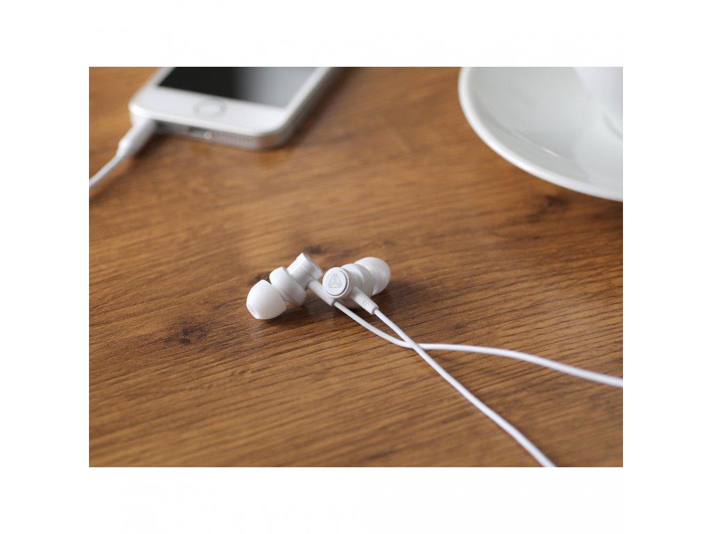 High Resolution sluchátka do uší s mikrofonem