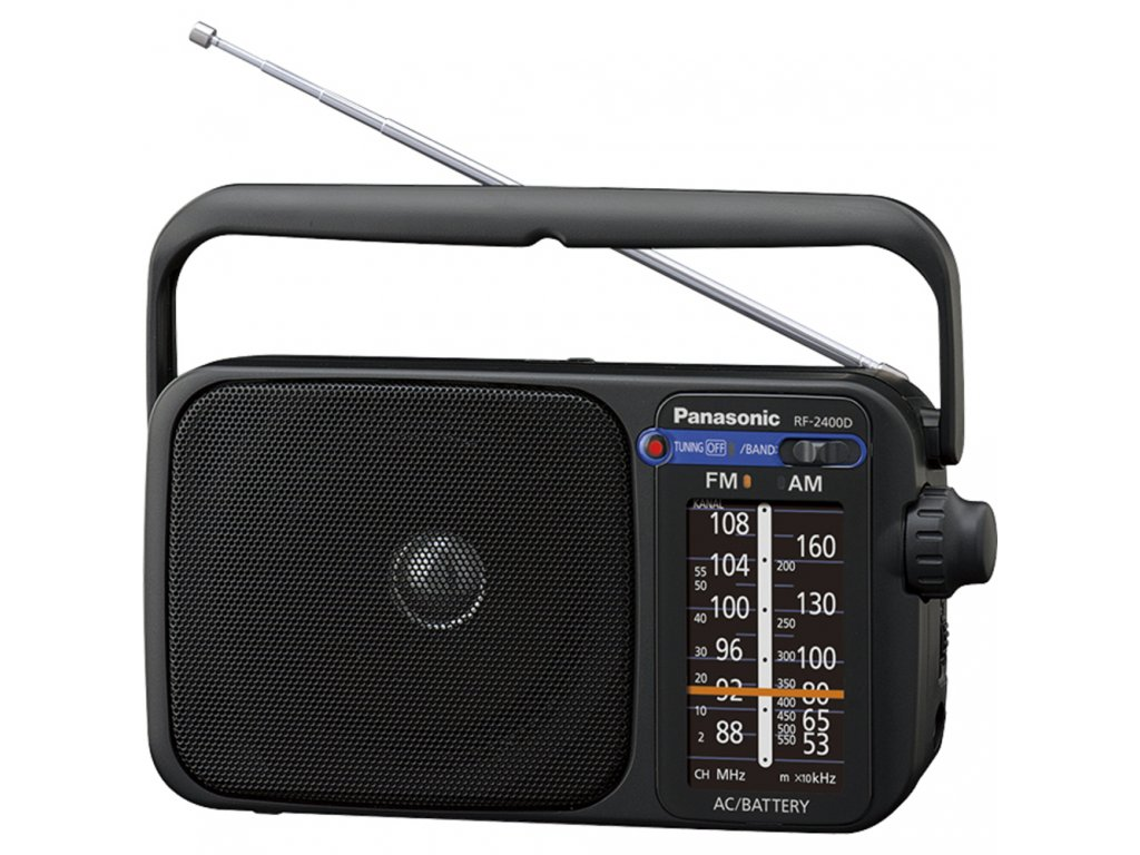 RF 2400DEG K přenosné rádio PANASONIC