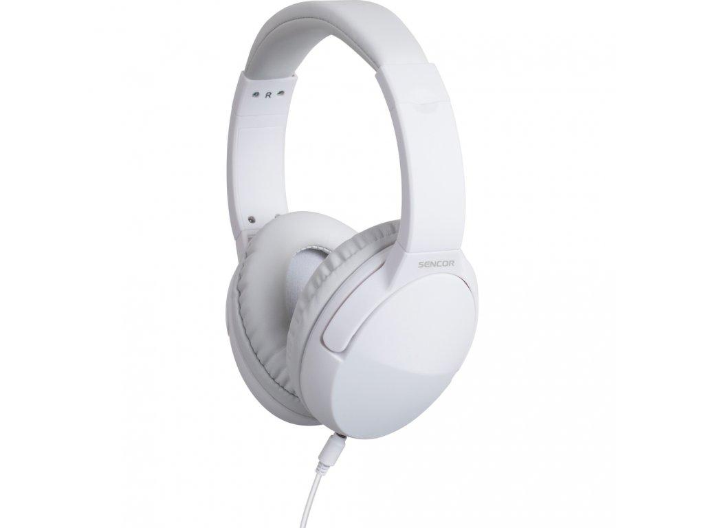 Pohodlná a lehká sluchátka s průměrem reproduktoru 40mm jsou ideální na celodenní nošení a poslech hudby.