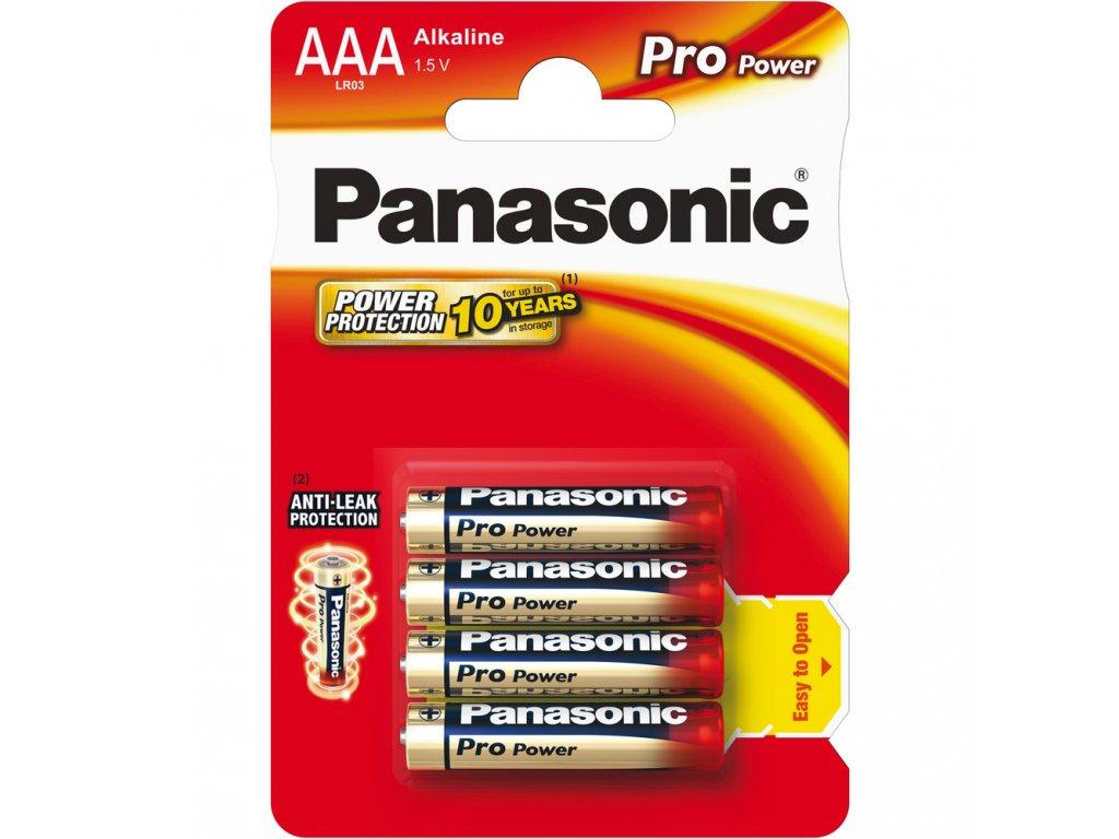 LR03 4BP AAA Pro Power alk PANASONIC