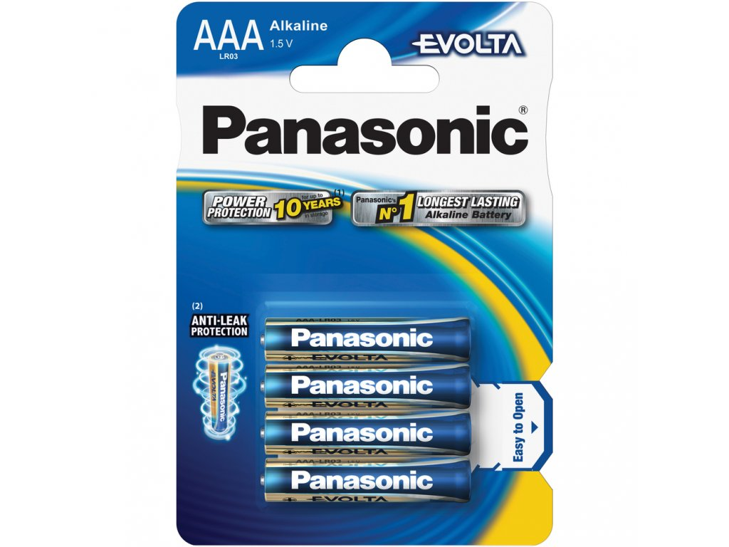 LR03 4BP AAA Evolta alk PANASONIC