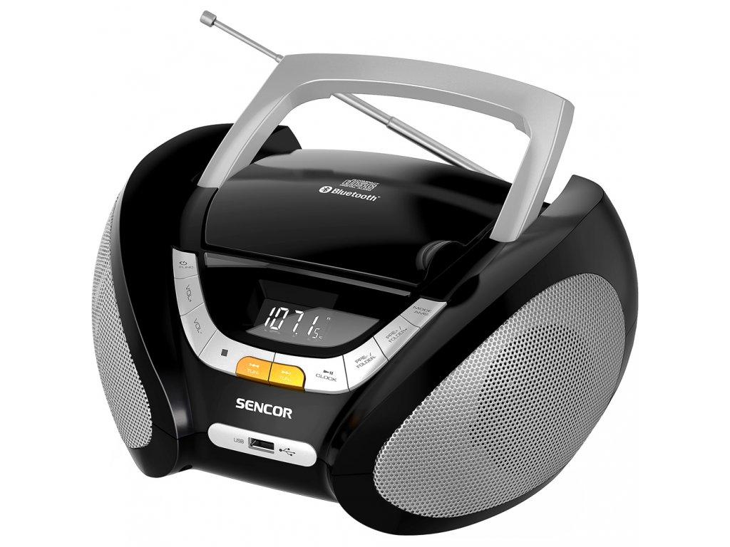 SPT 2320 RADIO S CD MP3 USB BT SENCOR