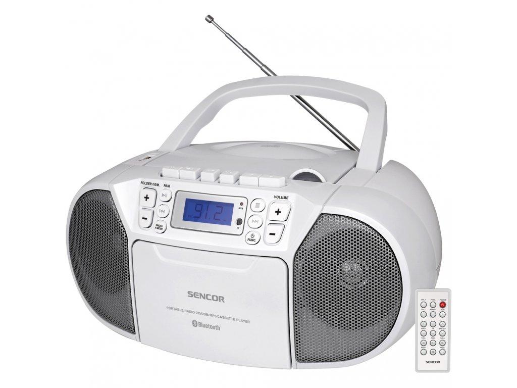 SPT 3907 W RADIO S CD USB BT KAZE SENCOR