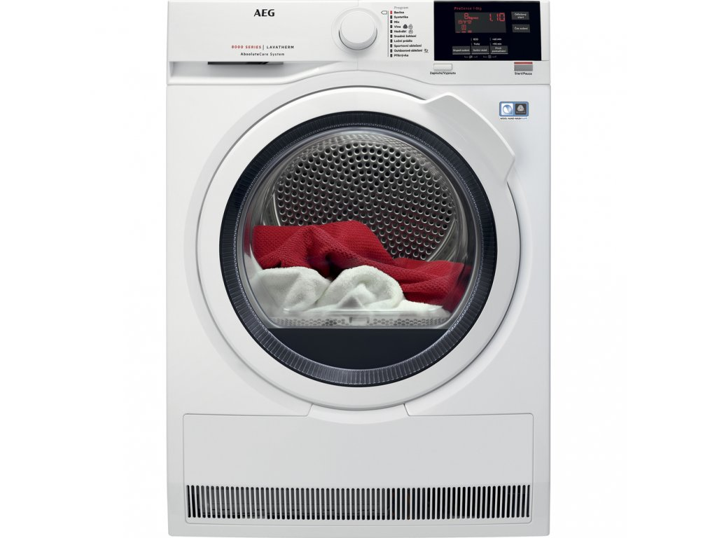 Kondenzační sušička prádla s tepelným čerpadlem