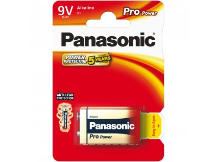 6LR61 1BP 9V Pro Power alk PANASONIC