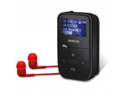 SFP 4408 BK 8GB MP3 PLAYER SENCOR