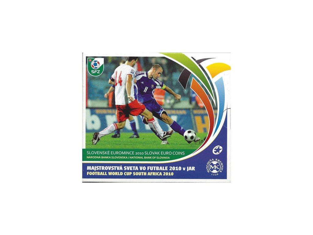 edda2381d7b2e Mince SR 2010 / Sada obehových mincí euro / MS vo futbale - akfila.sk