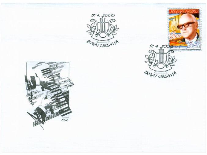 SR 2008 / 418 / Osobnosti - Eugen Suchoň / FDC