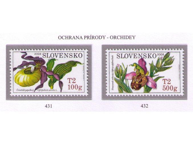 SR 2008 / 431-432 / Ochrana prírody