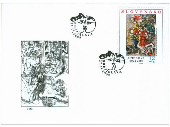 SR 2008 / 434-435 / Umenie / FDC (2)