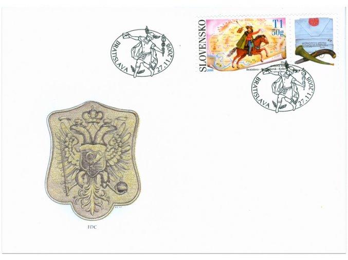 SR 2008 / 436 / Deň poštovej známky / FDC