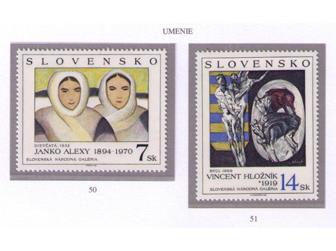 SR 1994 / 050-051 / Umenie