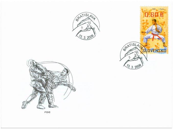 SR 2009 / 451 / Šport - bojové umenia / FDC