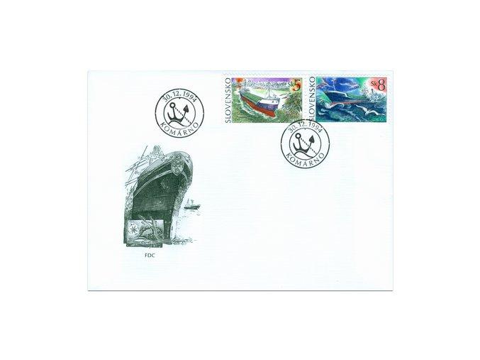 SR 1994 / 052-054 / Lode FDC (2)