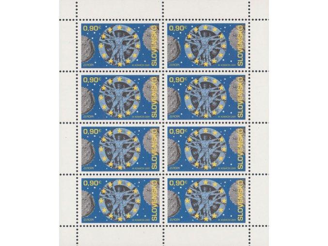 SR 2009 / 455 / EUROPA - Astronómia / PLb