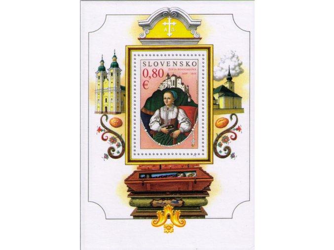 SR 2009 / 456 H / Osobnosti - Žofia Bosniaková