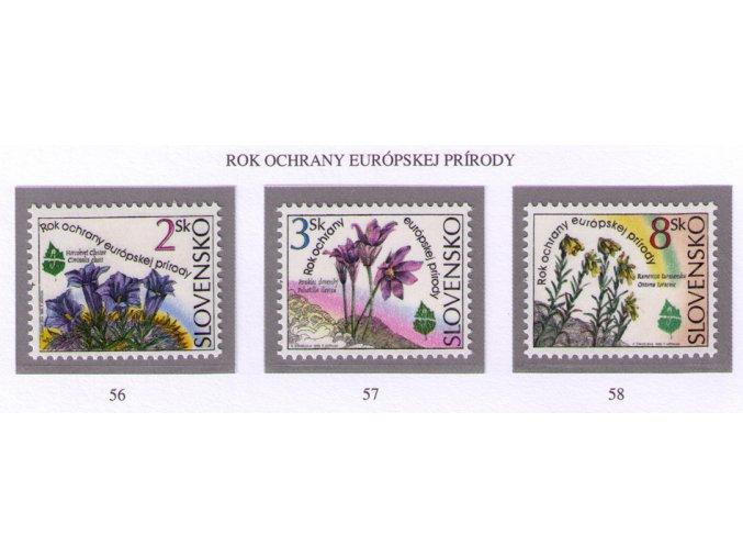 SR 1995 / 056-058 / Rok ochrany európskej prírody