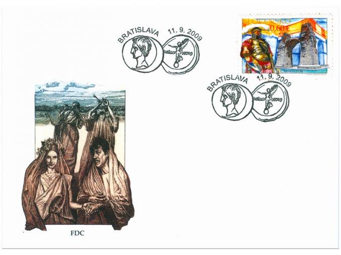 SR 2009 / 459-460 H / Limes Romanus - Carnuntum, Gerulata / FDC (2)