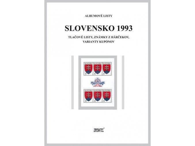 Albumové listy SR 1993 II