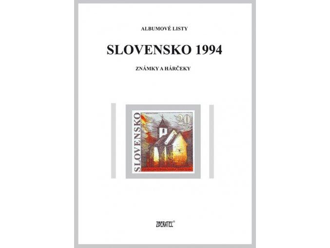 Albumové listy SR 1994 I