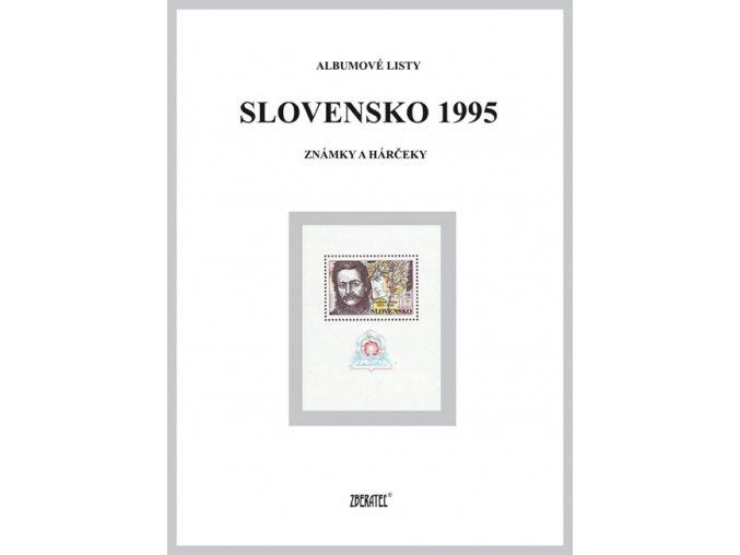 Albumové listy SR 1995 I