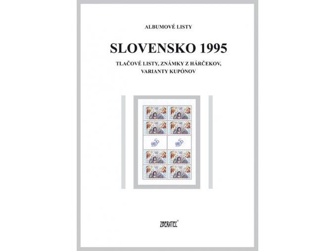 Albumové listy SR 1995 II