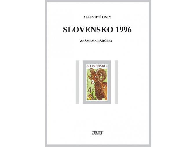 Albumové listy SR 1996 I