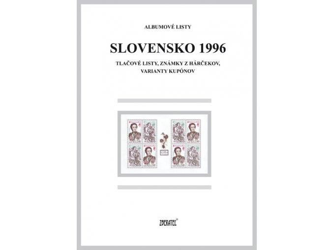 Albumové listy SR 1996 II
