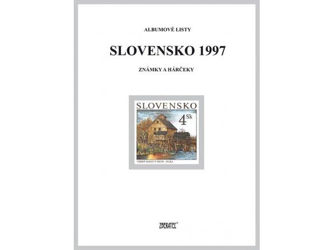 Albumové listy SR 1997 I