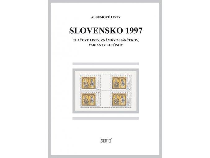 Albumové listy SR 1997 II