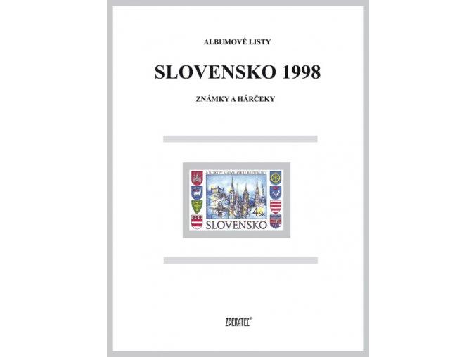 Albumové listy SR 1998 I
