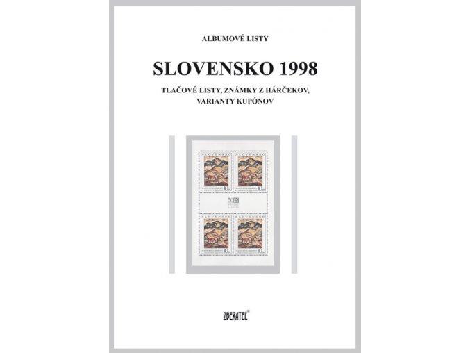 Albumové listy SR 1998 II