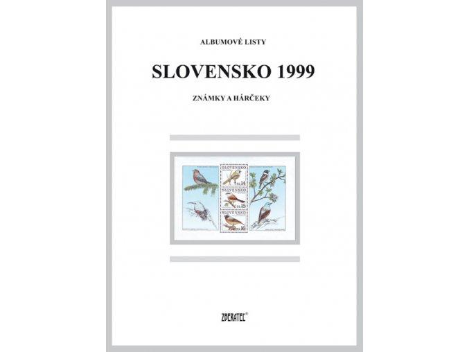 Albumové listy SR 1999 I