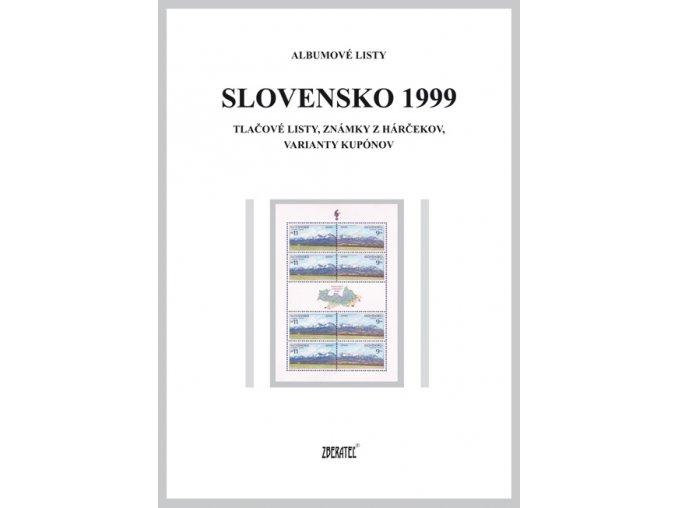 Albumové listy SR 1999 II