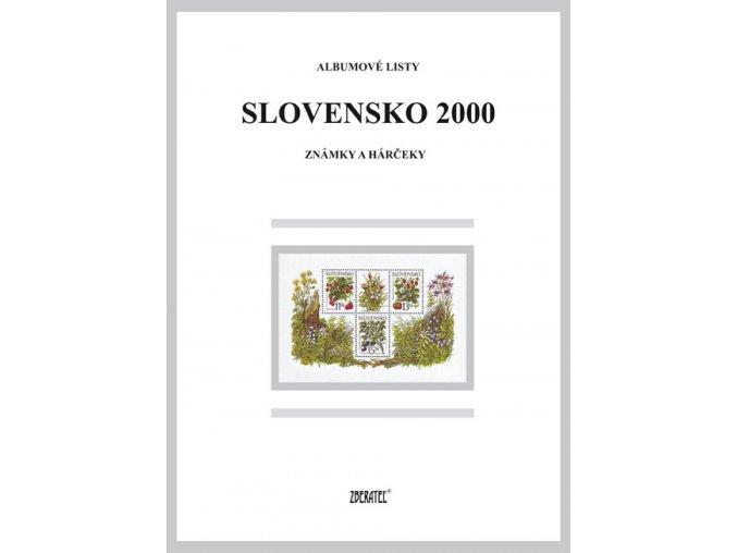 Albumové listy SR 2000 I