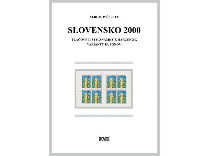 Albumové listy SR 2000 II