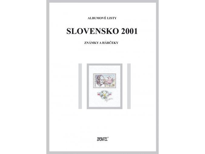 Albumové listy SR 2001 I