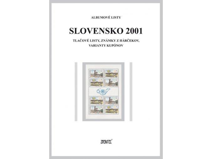 Albumové listy SR 2001 II