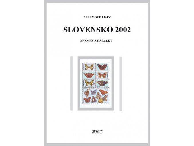 Albumové listy SR 2002 I