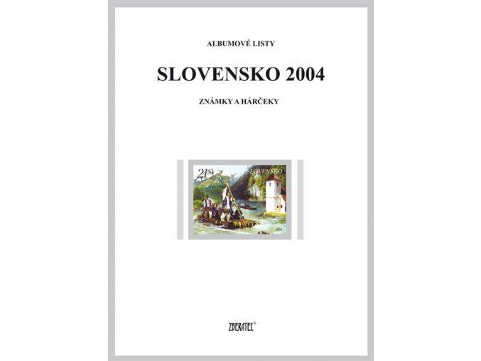 Albumové listy SR 2004 I