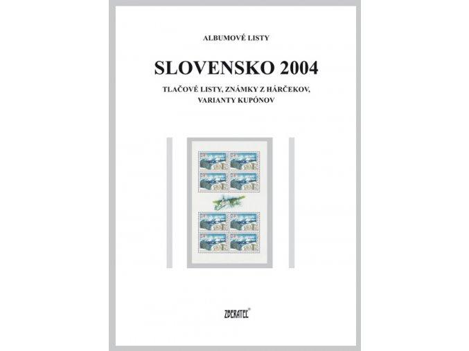Albumové listy SR 2004 II