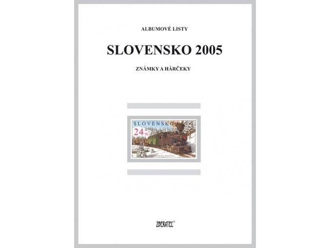 Albumové listy SR 2005 I