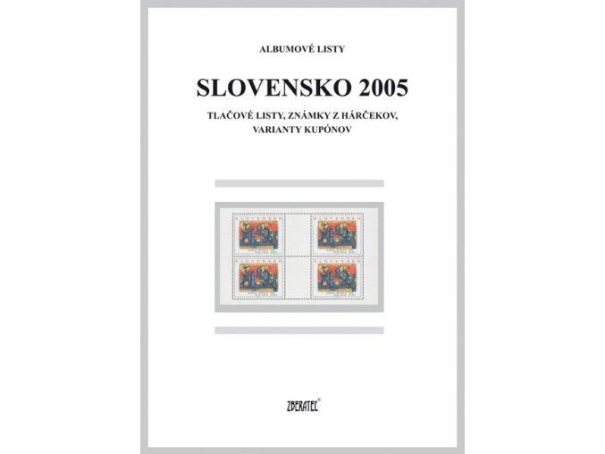 Albumové listy SR 2005 II