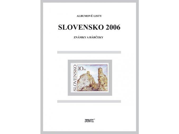 Albumové listy SR 2006 I