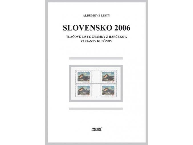 Albumové listy SR 2006 II